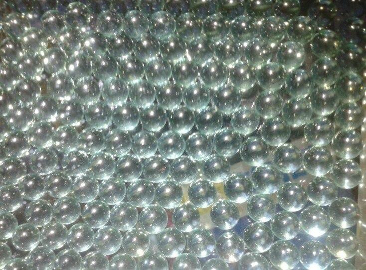 Diameter 7mm.8.9.10.11 Mm Glass Balls Slingshot Hunting Catapult Transparent Solid Marble Gardening Loose Bead Vase Filler