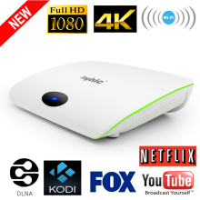 2017 Date I9 1G/8G 4 K Smart TV Box Amlogic 1080i/p Quand Core Réseau TV Box Android 4.4 WIFI Smart Set-top Box KODI boîte