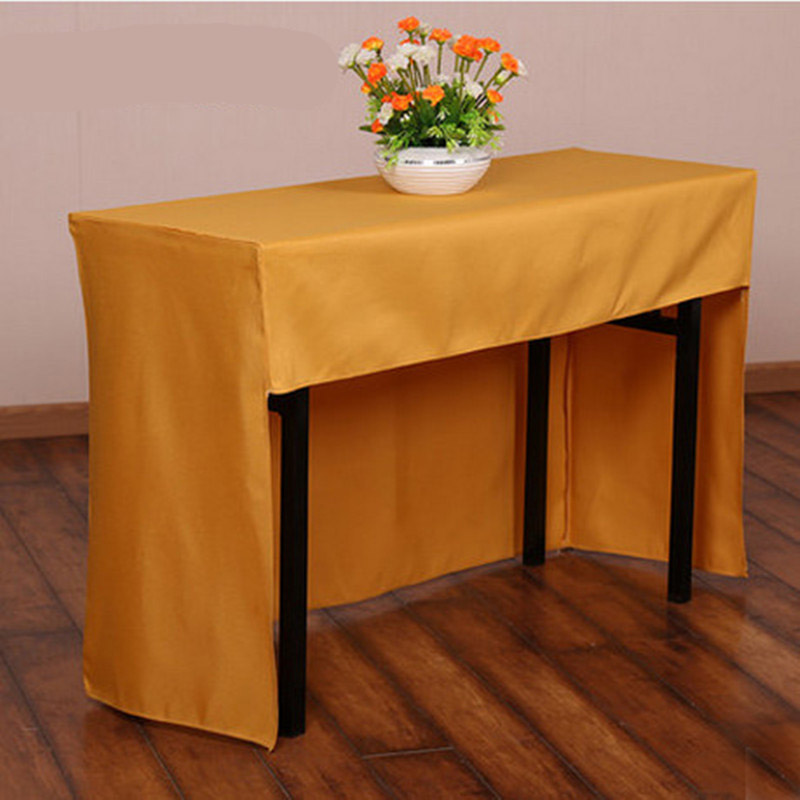 Meeting Table Cloth Rectangle Square Table Tables Coveres Advertising Show  Tablecloths Apron Table Skirt Home Decoration