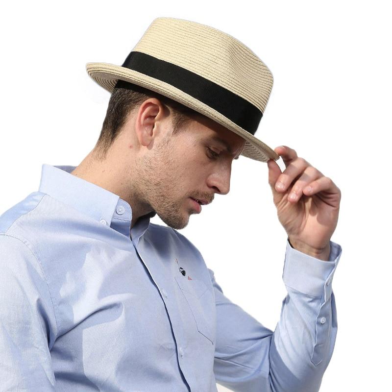 1ffde35a58b52 ... Wide brim hat  sombrero hombre verano  Visor sun hat  straw hat mens  panama hats