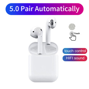 i9 i9s i12 TWS Bluetooth Earphone Wireless Earbuds Touch Control Air Pods Waterproof Wireless Headset Headphone for Phone Sports
