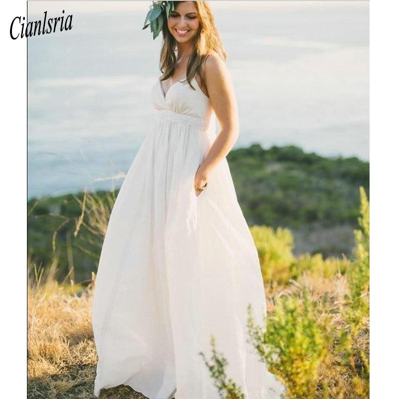 2020 Maternity Cheap Beach Wedding Dress Sexy Plus Size Spaghetti Straps Beaded Pearls Ivory Taffeta Country Empire Bridal Gowns Wedding Dresses Aliexpress,Princess Wedding Dresses Plus Size