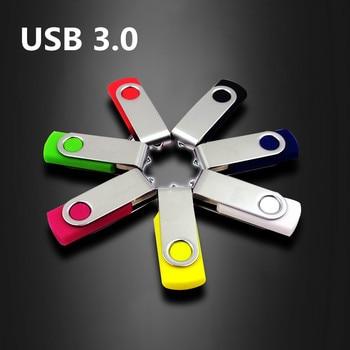 HOT! Pen Drive Pendrive 64GB 32GB 16GB USB Flash Drive Metal 4GB High Speed 128GB USB Stick Real Capacity USB Free Shipping цена 2017