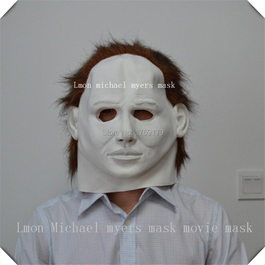 LATEX HOOD WITH TRANSPARENT Eye Lentille et Rivet Décoration Caoutchouc Masque Club Wear