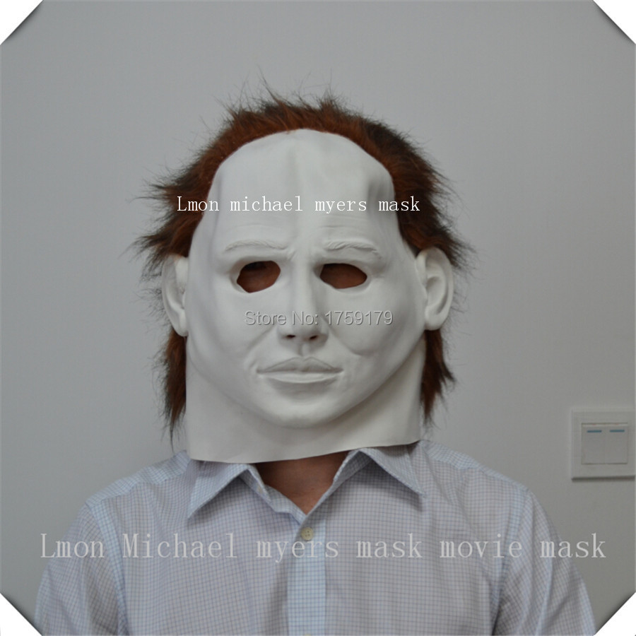 Latex Michael Myers Style Mask Halloween Horror Movie High Quality Fancy Dress Free Szie mask factory
