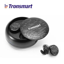 Tronsmart TWS Dual Earphone V5 Bluetooth 5.0 Headset Wireless Earbud with Handsfree Stereo Music QI-Enabled Charging Box