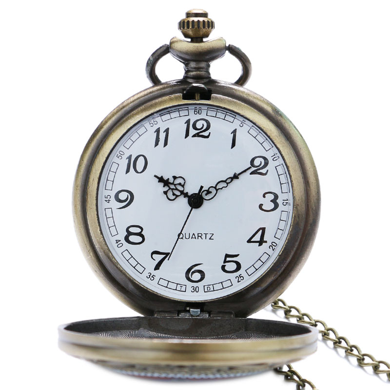 Image 4 - Masonic Freemason Freemasonry Pocket Watch Chain Men Women Quartz Watches Best Gift for Friend P1437-in Pocket & Fob Watches from Watches