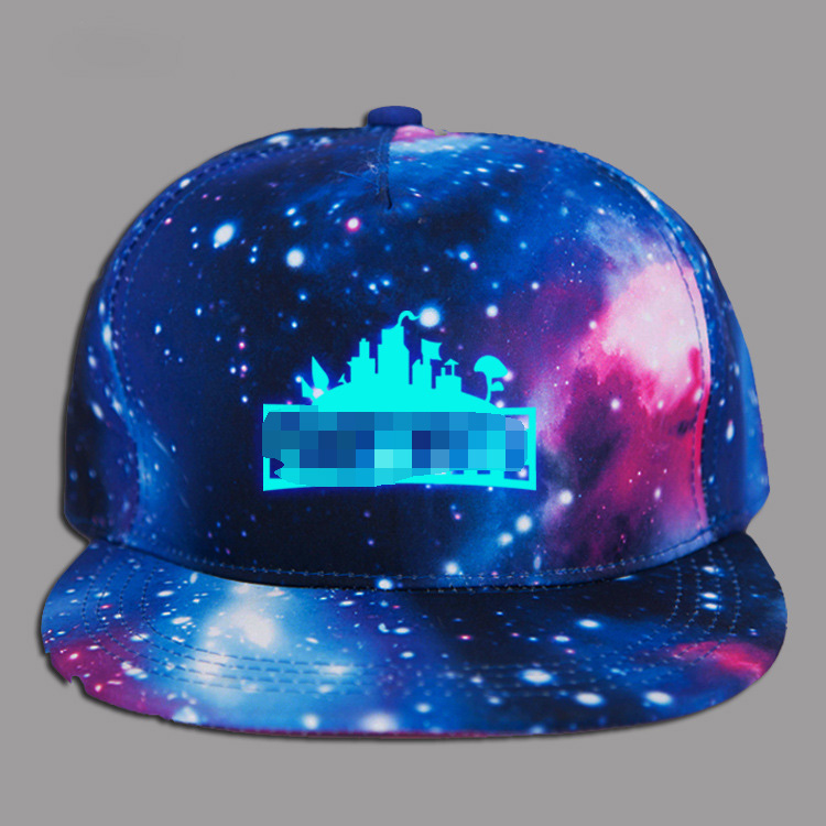 Glow In Dark Fortnight Hats Caps Teenage Cartoon Summer Sun Luminous Baseball Hip Hop Snapback Sports Cap Hats Kid Birthday Gift korean fashion trendsetter full box rivet level adjustable hat hiphop bboy baseball cap hip hop hip hop cap plate