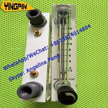 Wysokiej jakości oryginalne produkty LZM-15T typ panelu gazu przepływomierz rotametr powietrza z zaworem sterującym