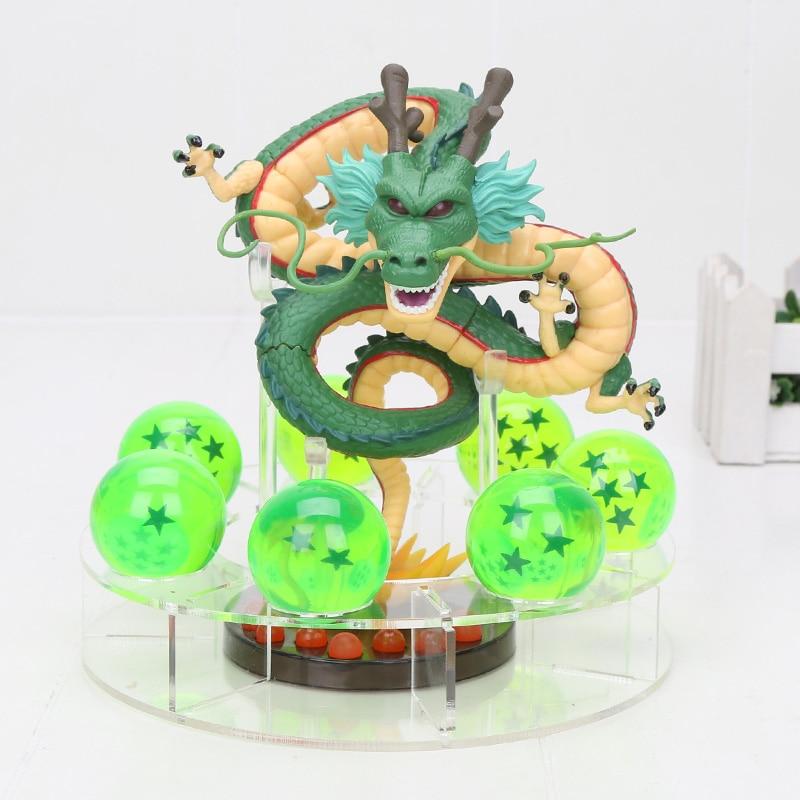 Dragon Ball Z Shenron Dragon 15cm plus 7pcs Balls 3.5cm Set 15