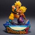 NEW hot 18cm dragon ball Super big Saiyan Son Gohan Son Goku Kakarotto action figure toys doll collection Christmas toy with box