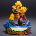 Nueva caliente 18 cm dragon ball súper grande Saiyan Gohan Son Goku Kakarotto figura de acción juguetes muñeca navidad colección juguete con la caja
