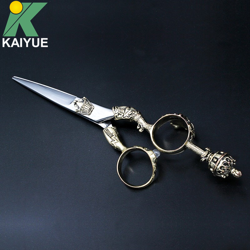 Factory Direct 6 Hair Scissors Bayber Salon Professional Hairdressing Cutting Scissors Shears With Scissor Bag GX07