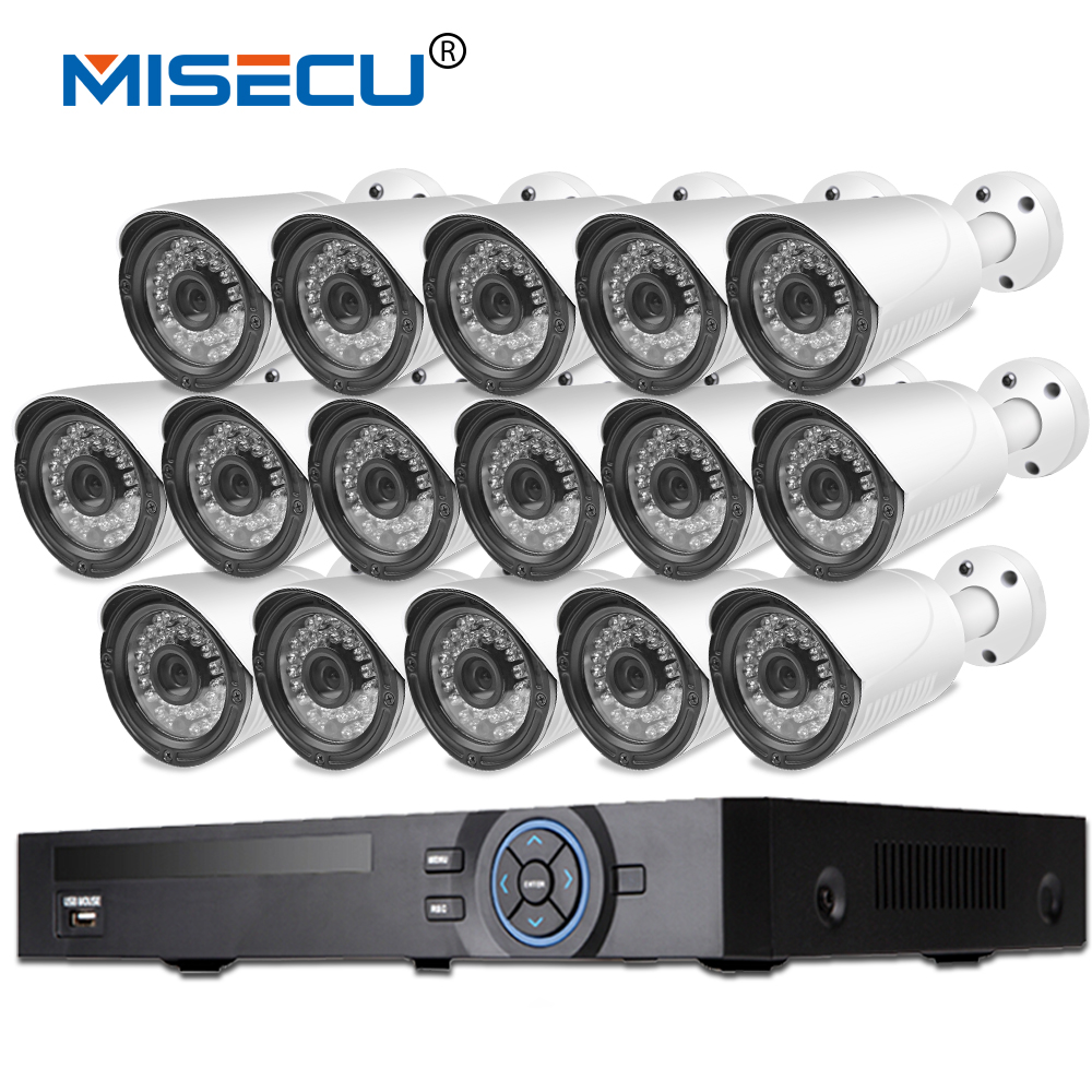 16CH 1080P NVR Kit Onvif Full HD HDMI 2.0MP 16pcs 1080P IP Camera night vision waterproof P2P cloud Surveillance cctv camera kit nvr 4ch kits 960p night vision plug and play ip camera p2p cloud 4ch 1u nvr onvif ip camera set
