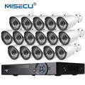 16CH 1080P NVR Kit Onvif Full HD HDMI 2.0MP 16pcs 1080P IP Camera night vision waterproof P2P cloud Surveillance cctv camera kit