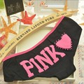 3PCS/LOT Cotton underwear cotton underwear women sense in lovely letters Cainikaier underwear factory wholesale