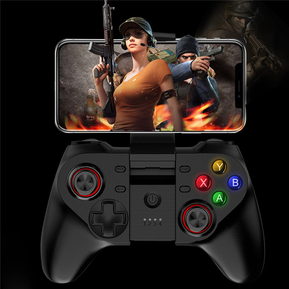 New Wireless Bluetooth Gamepad Remote Game Controller Joystick free fire For PUBG iPhone & Android Mobile Phone Game controller