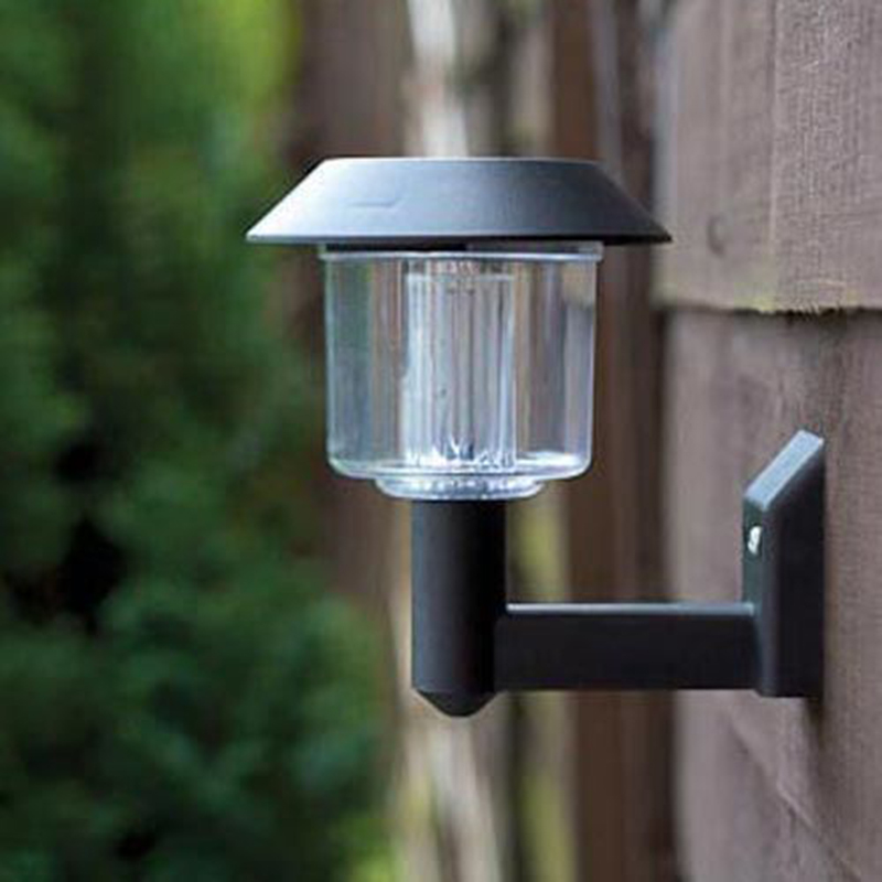 Solar Wall Lamp Outdoor LED Light Super Bright Garden Street Lawn ABS Plastic solar lights