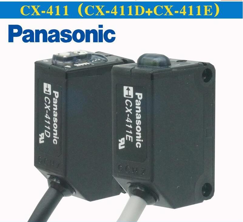 CX-411 Thru-beam tipo Interruttore Fotoelettrico Sensore CX-411D & CX-411E 100% Nuovo Originale e AutenticoCX-411 Thru-beam tipo Interruttore Fotoelettrico Sensore CX-411D & CX-411E 100% Nuovo Originale e Autentico