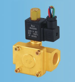 ФОТО Free Shipping 3/4'' Port Size 0955405 Normally Open Diaphragms Solenoid Brass Valves 5pcs In Lot