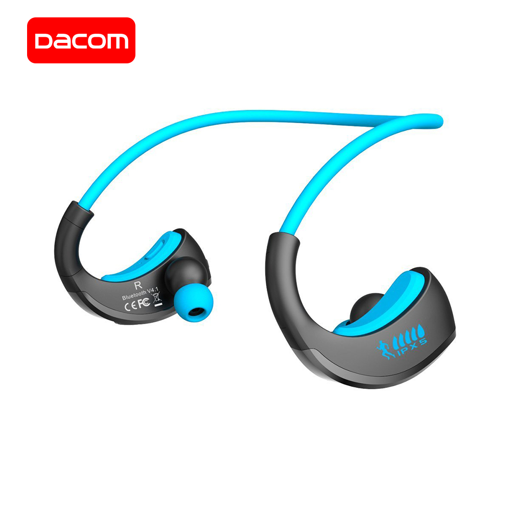 купить DACOM G06 Wireless Headphone Bluetooth Sports Earphone IPX5 Waterproof Neckband Stereo Headset wit Microphone for iPhone Samsung