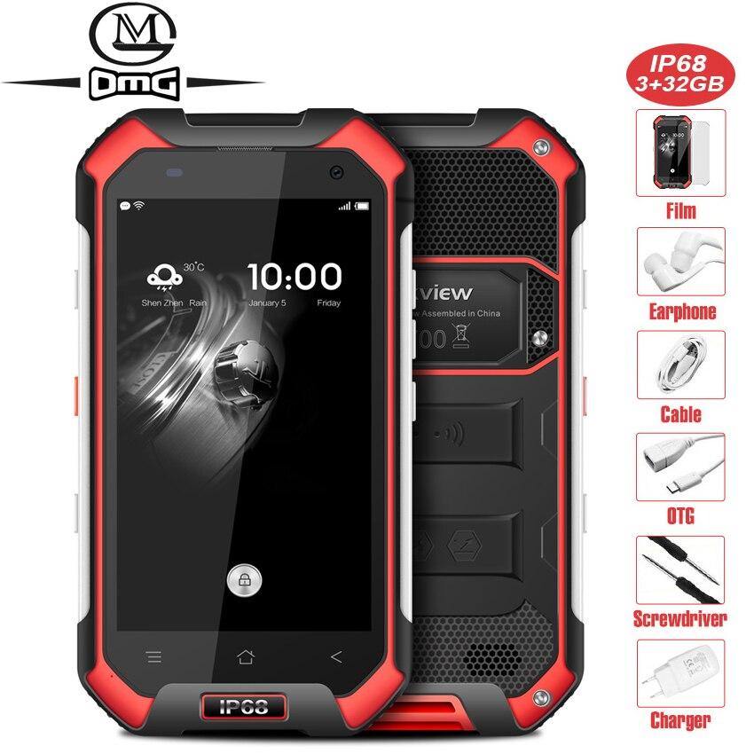 Blackview BV6000 IP68 Waterproof Smartphone shockproof 4 7 MT6755 Octa Core Android 6 0 3GB RAM