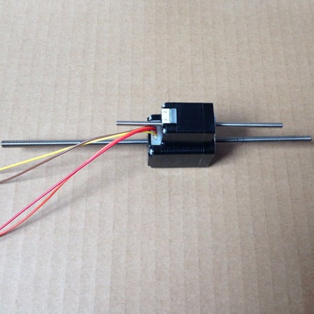 Nema11 200mm 0.75A Non-captive Linear Stepper Motor for 3D Printer kerastase молочко для окрашенных волос хрома каптив kerastase reflection chroma captive e0848901 200 мл