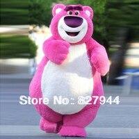 Много Huggin 'Медведь Lotso игрушки sotry Маскоты костюм epe