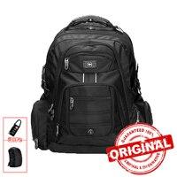 17 Inch Men S Laptop Backpack Waterproof Nylon Notebook Computer Bag High Quality 37L Big Travel