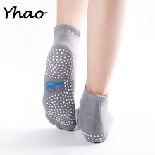Yhao brand 4 color Adult Women Anti Slip Socks Dots Exercise yoga dance gym sports Pilates free shipping