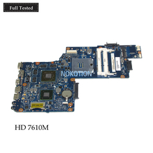 NOKOTION Brand New H000052690 Laptop Motherboard For Toshiba satellite C850 L850 c855 HM76 Radeon HD 7610M Graphics Main board nokotion v000185570 6050a2313501 main board for toshiba satellite l505 laptop motherboard hm55 ddr3 hd4500 discrete graphics