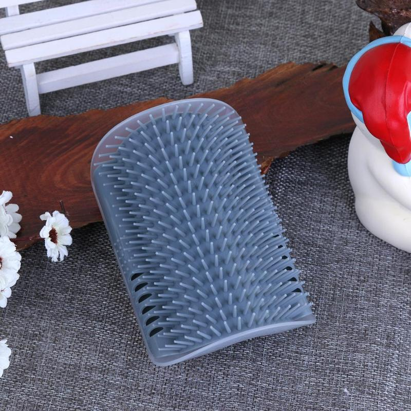 Cat Corner Scratching Rubbing Brush Pet Hair Removal Massage Comb Removable Pet Grooming Cleaning Supplies Dropshipping in Cat Grooming from Home Garden