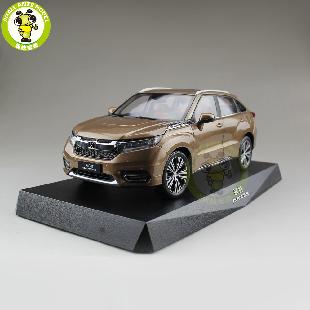 1/18 Honda AVANCIER SUV Diecast Metal Car SUV Model Toys Boy Girl Gift Collection Hobby Gold 1 18 volvo xc90 2015 suv diecast model car suv gold