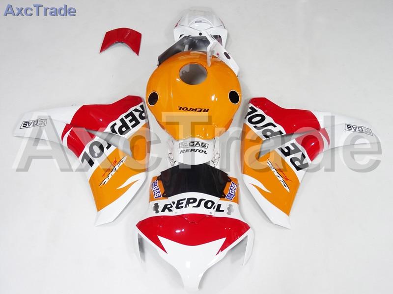 Carenagens da motocicleta Para Honda CBR1000RR CBR 1000 RR CBR1000 2008 2009 2010 2011 Injeção de Plástico ABS Carenagem Carroçaria Kit A565