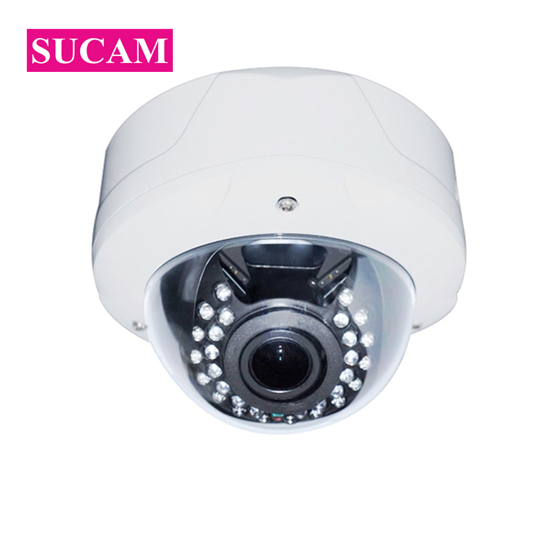 SUCAM 5MP AHD CCTV Camera 180 Degrees Vision Angle Home Security Video Surveillance Dome Infrared Analog Camera 25M IR Distance sucam 1 0mp home ahd security camera 720p 20 meters ir nano led light infrared ir surveillance camera pal ntsc easy installtion