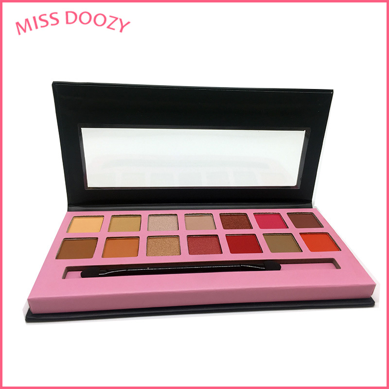 MISS DOOZY 10 Color Makeup Eyeshadow Shadow Pallete
