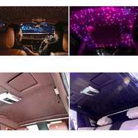 16W LED Araba ışık dekorasyonu Atmosfer su geçirmez Çok Renkli Işık RGBW Dört Boncuk Kablosuz Uzaktan Kumanda Yıldızlı Gökyüzü Etkisi