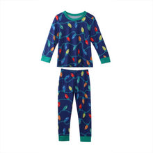 Xmas Christmas Family Pajamas 2PCS Set Father Mother Adult Kids Sleepwear