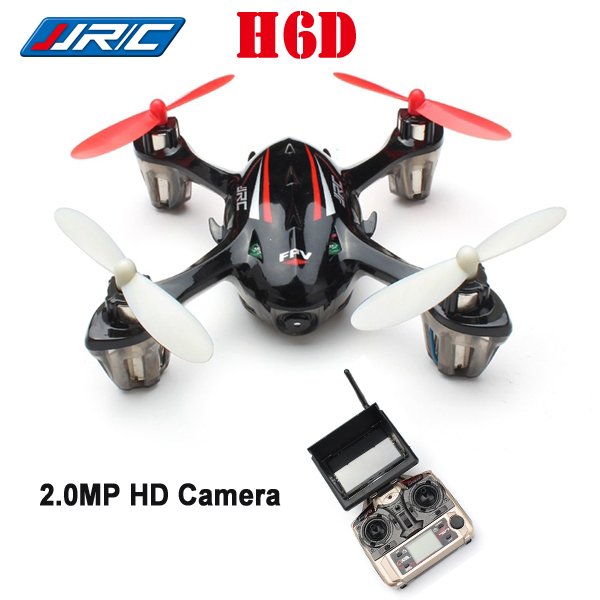JJRC H6D 4CH 6-axis 5.8G FPV RC Drone Quadcopter w/ 2MP HD Camera One Key Return RTF with more battery original jjrc h12c drone 6 axis 4ch headless mode one key return rc quadcopter with 5mp camera in stock