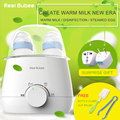 2016 British brand 24 hours Constant temperature multi-function baby double bottle warmer,sterilizer,boiled eggs,milk warmer
