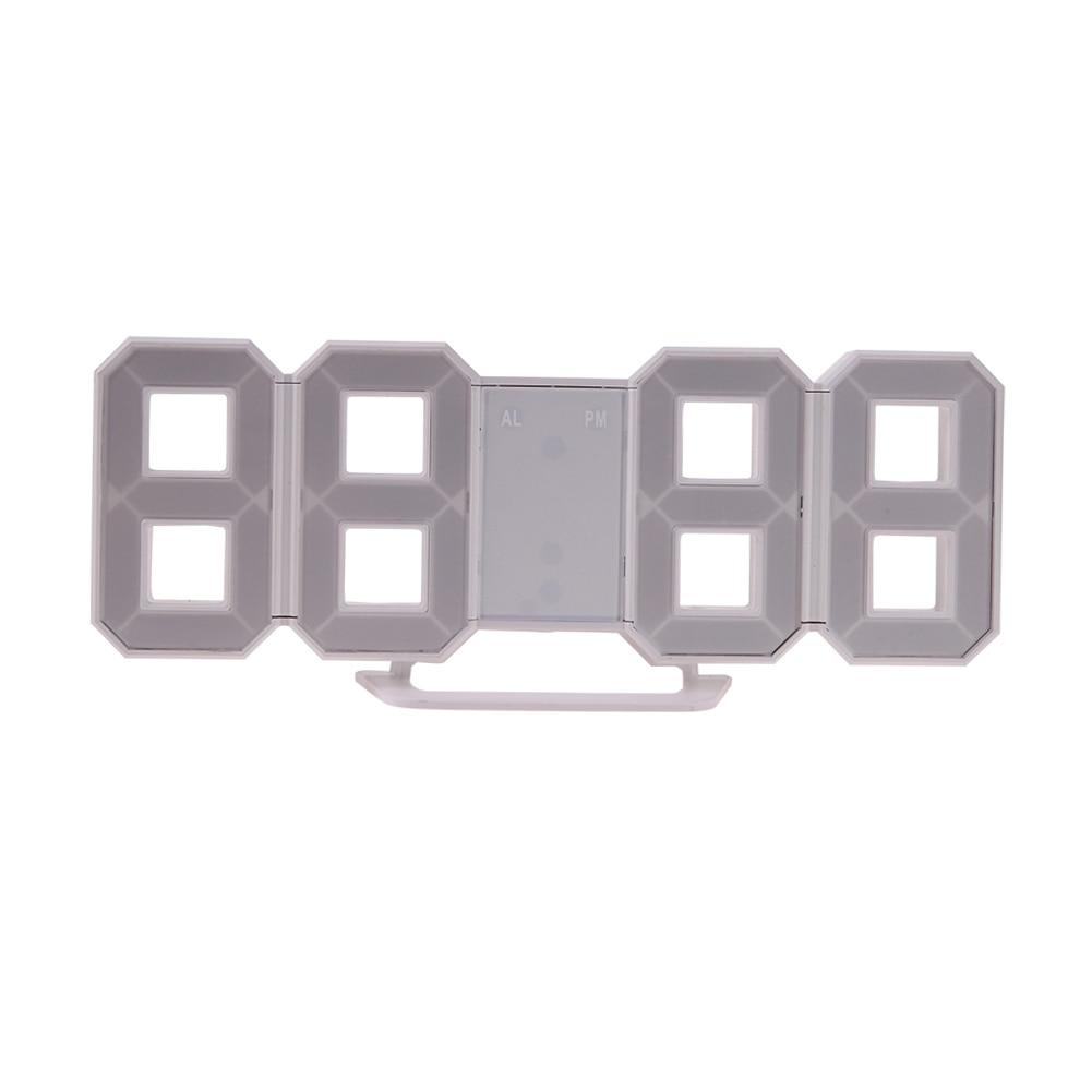 Reloj electrónico digital de sobremesa Reloj LED Reloj de 12/24 - Decoración del hogar