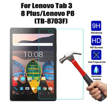 For Lenovo P8 TB-8703F Screen Protector Tempered Glass For Lenovo Tab 3 8 Plus TB-8703F Tablet Screen Protector Film high quality for lenovo tab 3 8 plus tab3 p8 tb 8703f tb 8703n tb 8703r lcd display touch screen digitizer assembly free tools