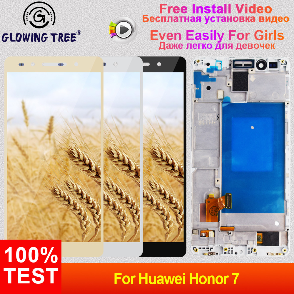 Lcd For Huawei Honor 7 Plk Tl01h Plk L01 Plk Ul00 Plk Al10 Touch Screen Digitizer Sensor Lcd