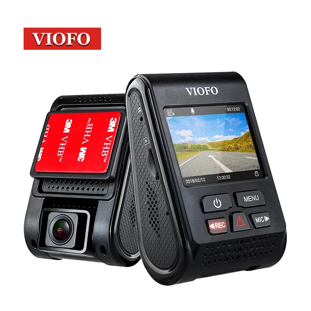 D'origine VIOFO Upgrated A119 V2 2.0 LCD Condensateur Novatek 96660 HD 2 k 1440 p Voiture Dash vidéo enregistreur DVR GPS En Option CPL Filtre