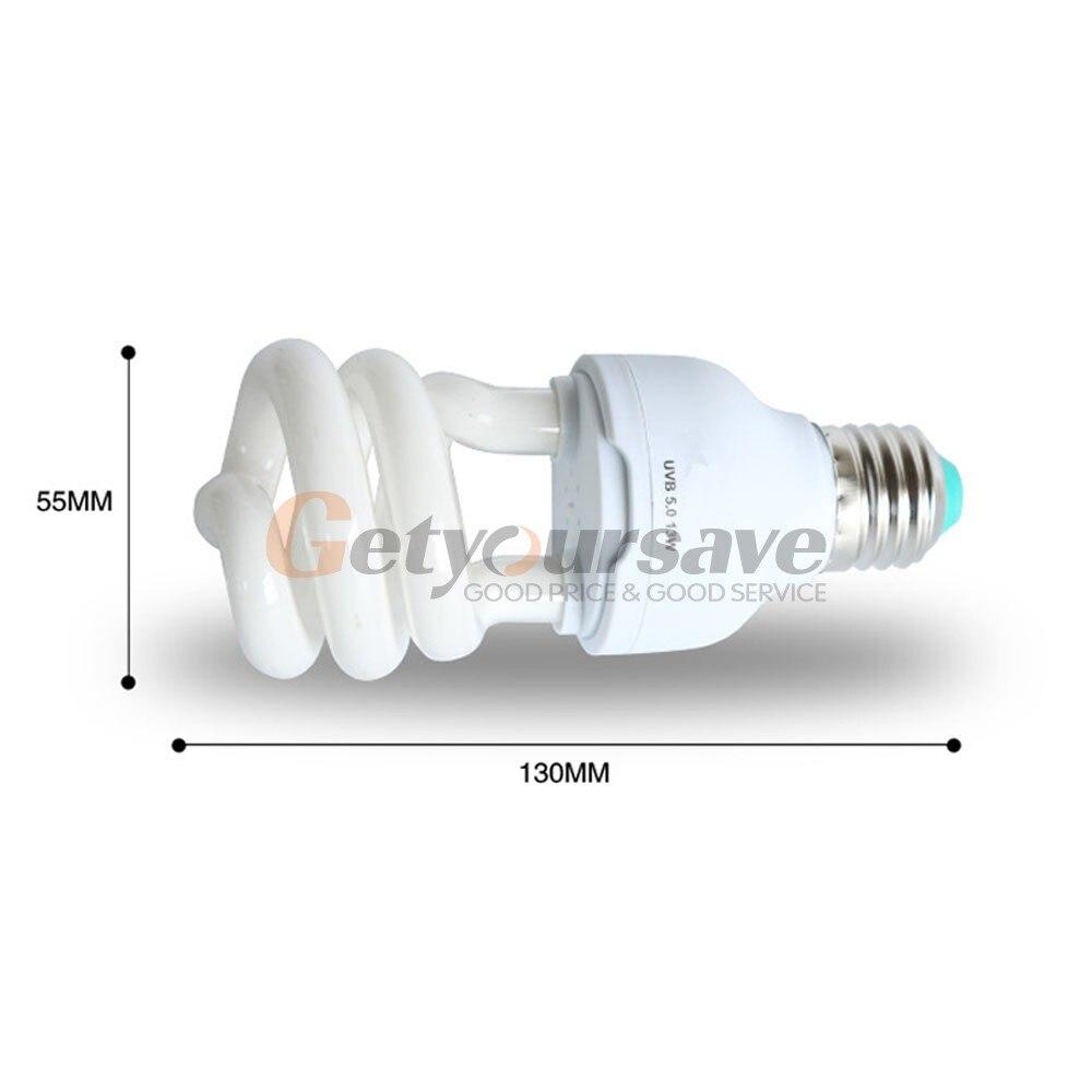 5 0 Uvb 13 W Reptile Ampoule Uv Lampe Vivarium Terrarium Tortue