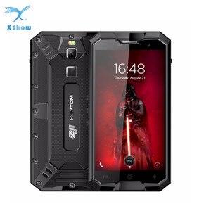 Image 1 - HOMTOM ZOJI Z8 IP68 עמיד למים עמיד הלם Dustproof טביעת אצבע 4G 4GB RAM + 64GB ROM 4250mAh 5V2A מתכת גוף OTG GPS Smartphone