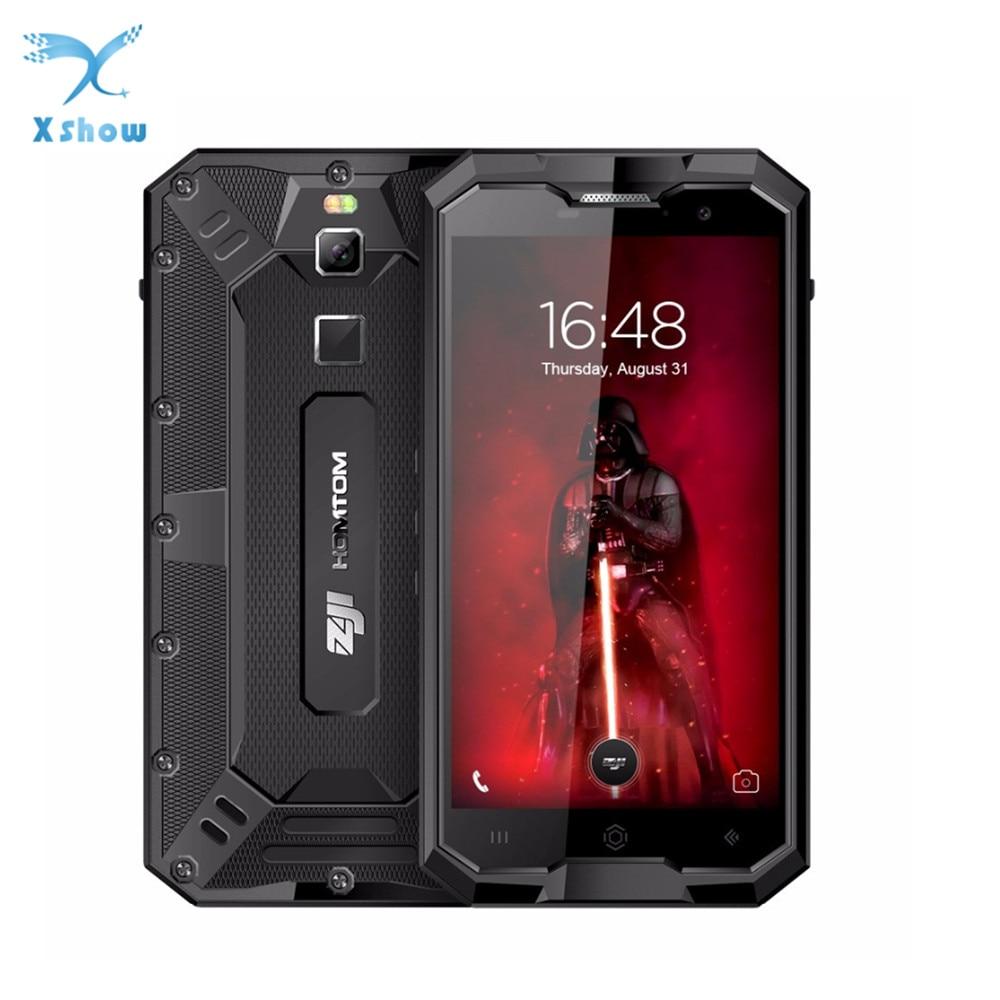 Ударопрочный телефон HOMTOM ZOJI Z8, 4 ГБ ОЗУ+64 ГБ ПЗУ, 4250 мАч, 5 В 2 А, металлический корпус, OTG, GPS, 4G смартфон с водо- и пылезащитой IP68, распознавание от...