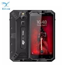 HOMTOM ZOJI Z8 IP68 wodoodporna, odporna na wstrząsy pyłoszczelna odcisk palca 4G 4GB RAM + 64GB ROM 4250mAh 5V2A metalowa obudowa OTG GPS Smartphone
