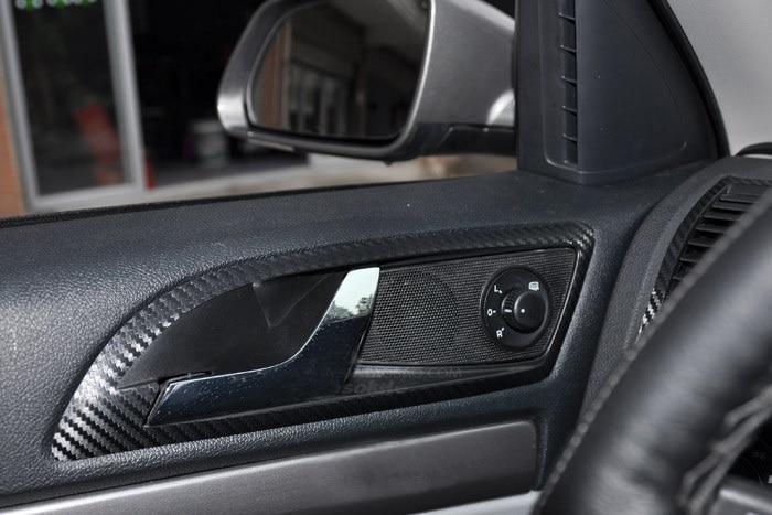for skoda octavia carbon fiber sticker interior type carbon fiber car interior door shake. Black Bedroom Furniture Sets. Home Design Ideas