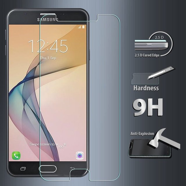 SuaGet Tempered Glass For Samsung Galaxy J3 Emerge Prime Tempered Glass